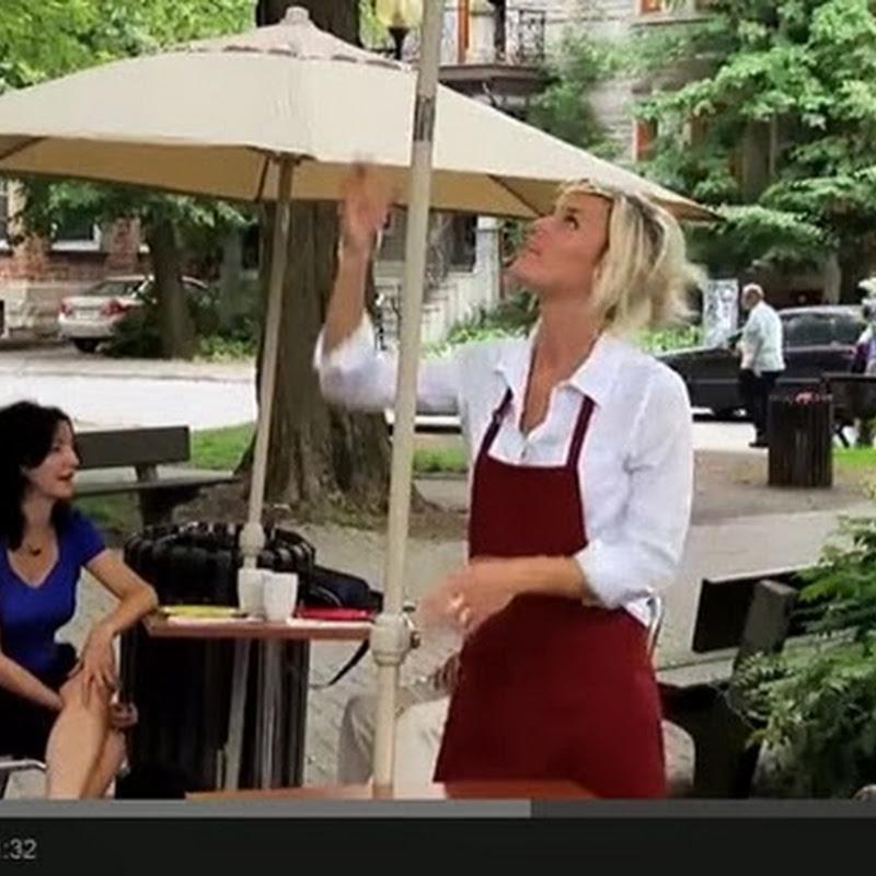 Η ομπρέλα που βρέχει