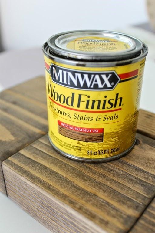 minwax wood finish in special walnut