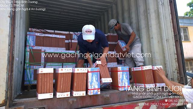 Gạch lát cotto Gốm Đất Việt