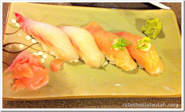 Sozo Sushi White Tuna Snapper