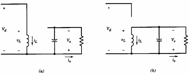 Step-Down/Step-Up (Buck-Boost) Converter: Continuous current conduction mode