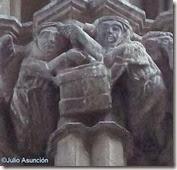 Iglesia del Cristo de Caparroso - Pelea de mujeres