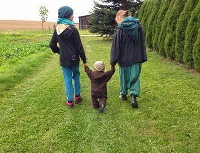 Unterwegs mit Familie Jademond