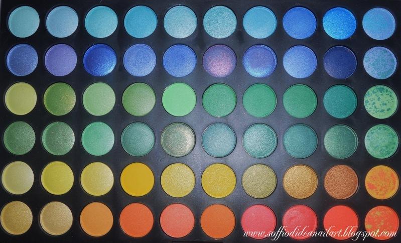 Palette 120 Colori Jelly Matte Eyeshadow- metà1