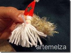 Шить - лицо Санта-Клаус-50
