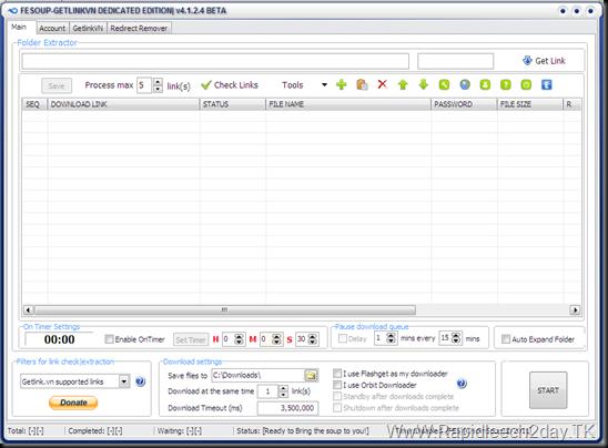 FeSOUP-getlinkvn dedicated edition v4.1.2.4 beta
