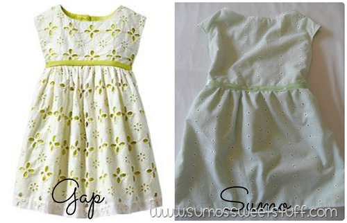 Sumo's Sweet Stuff - Lace Eyelet Dress
