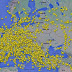 Incredible Map Shows Airplanes Getting The Heck Out Of Ukranian Airspace