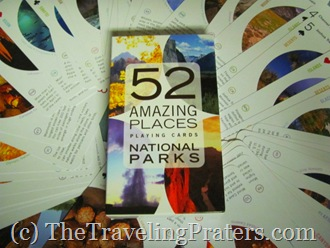 52 Amazing Places National Parks Playing Cards by Birdcage Press