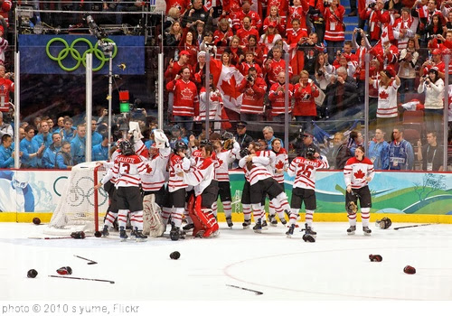 'Women's Gold Medal: Canada vs. USA' photo (c) 2010, s.yume - license: http://creativecommons.org/licenses/by/2.0/