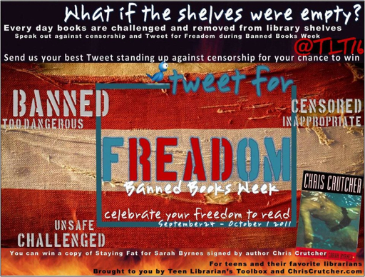 The Teen Librarian's Toolbox loves FREADOM (the freedom to read) and ...