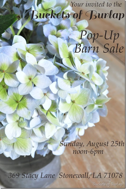 Pop-up Barn Sale