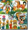 Krishna's pastimes
