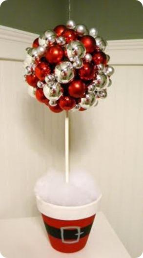 reyna orozco meraz: cómo hacer un fácil adorno navideño con esferas