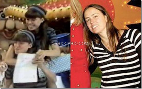 Mariana Richard, Metralha, ficou na Rede Globo. Mariana cresceu e hoje é assistente de direção de TV na emissora