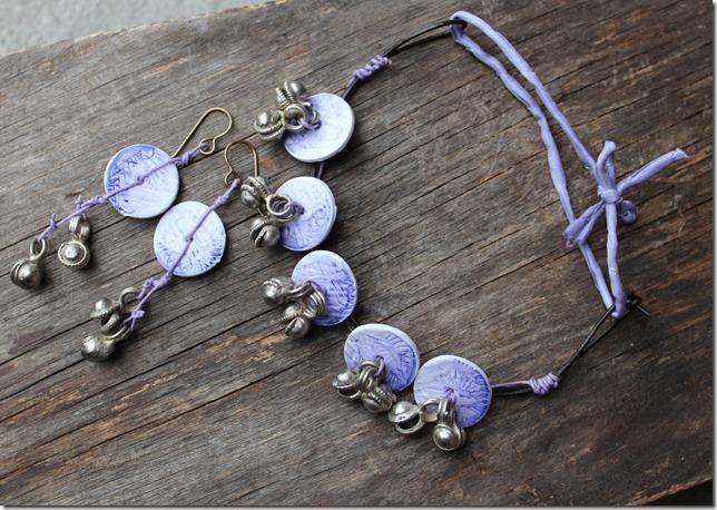 anklet earrings