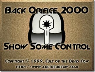Back Orifice 2000