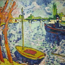 Vlaminck, River Seine at Chatou 1906