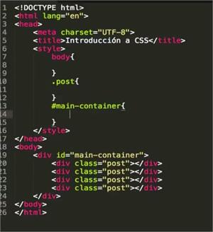 Conociendo los selectores básicos en CSS