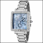 Square Angel Diamond Accented Watch