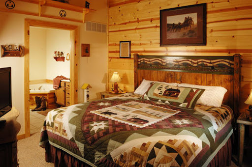 Branson Woods Resort Two Bedroom Luxury Cabin In Missouri