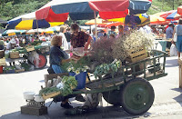 Market scene