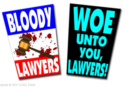 'Bloody Lawyers & Woe Unto You, Lawyers' photo (c) 2011, k763 - license: http://creativecommons.org/licenses/by-sa/2.0/