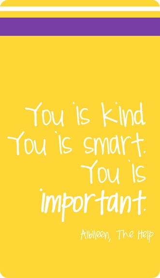 You is kind QUOTE