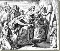 Jesus raises Lazarus-6