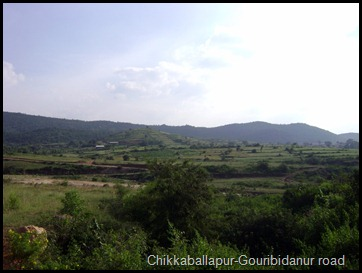 Chikkaballapur-Gouribidanur road