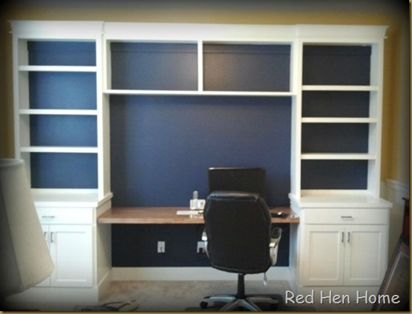 Red Hen Home office navy