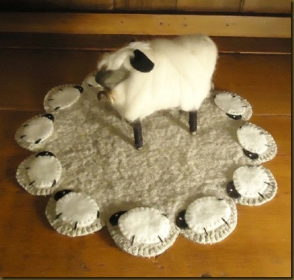 Sheep Lamp Mat 3