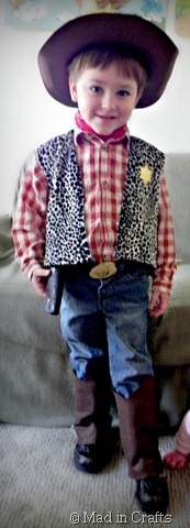 homemade Woody costume  sc 1 st  Mad in Crafts & DIY Toy Story Costumes on a Budget - Mad in Crafts