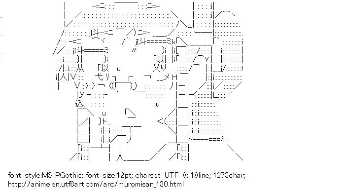 [AA]Otohime (Namiuchigiwa no Muromi-san)