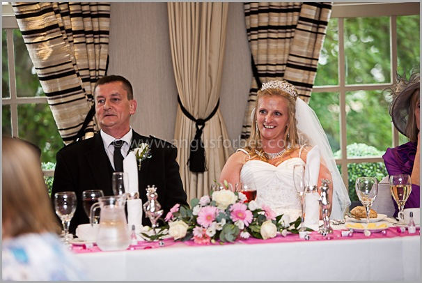 looking nervous wedding photography at the cults hotel aberdeen