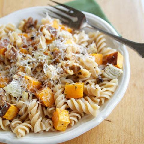 Butternut Squash, Parmesan, and Pasta Recept | Yummly