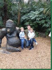 Eddie and boys at zoo