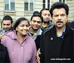 Reader Richa&#039;s mother Shashi Singal spotted Anil Kapoor in Birmingham, UK during the shooting of Priyadarshan&#039;s Tez.