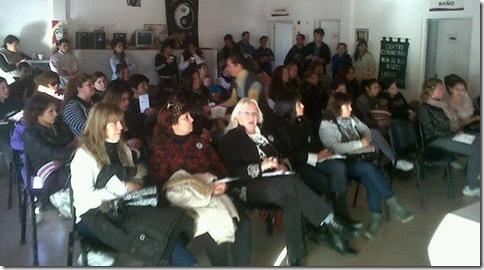 """El ProNaLCI dio charlas sobre """"Los derechos en tu barrio"""" en el Partido de La Costa"""