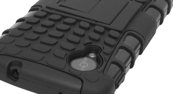 Rugged Impact Hybrid Hard Kickstand Case Cover