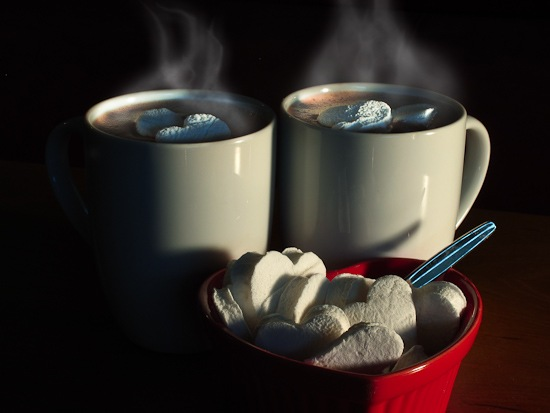 Peppermint Marshmallows and Cocoa