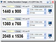 Cambiare veloce la risoluzione dello schermo con combinazione di tasti
