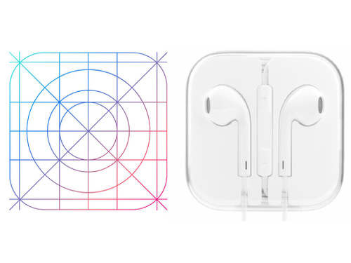 Earpod ios app icon grid