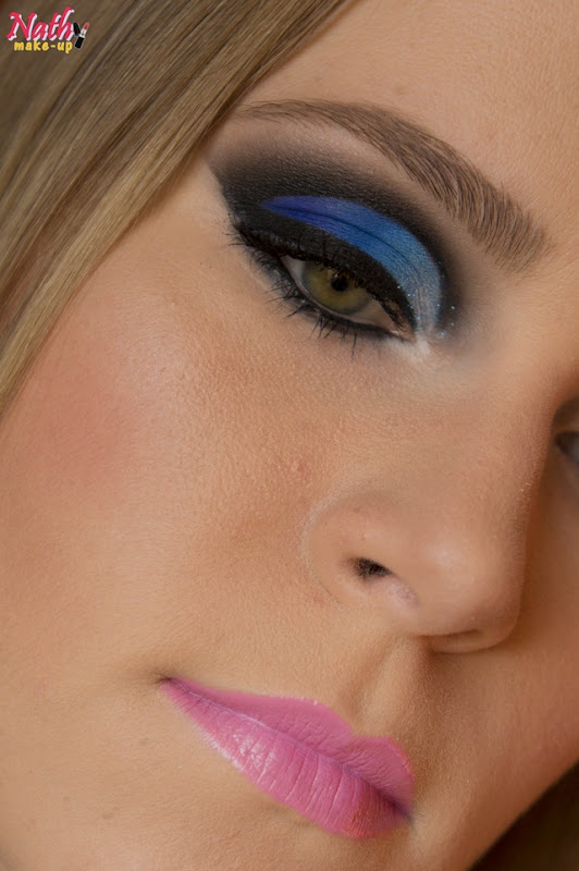 cut crease azul