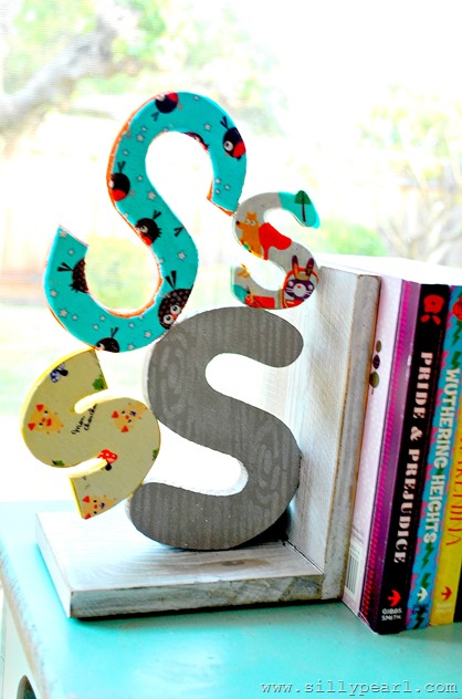 woodland-monogram-bookends