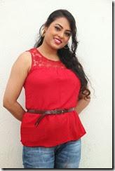 Actress Meenakshi Sarkar @ Villangam Movie Pooja Stills