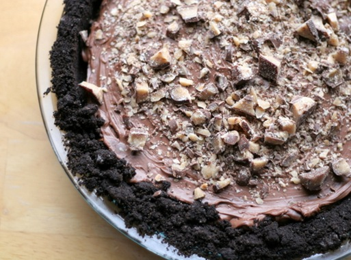 chocolate toffee pie 3
