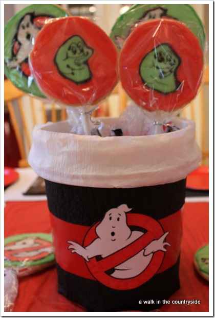 ghostbuster's birthday party