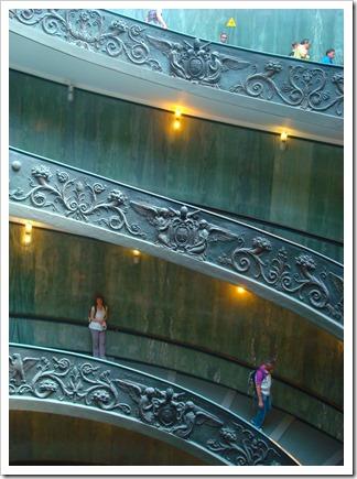 stunning stairway rome