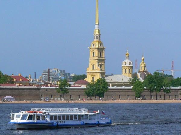 Obiective turistice Rusia: fortareata Sf. Petru si Pavel Sankt Petersburg.JPG